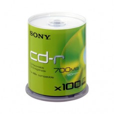 CD диски Sony CD-R 700MB/48x Bulk 100